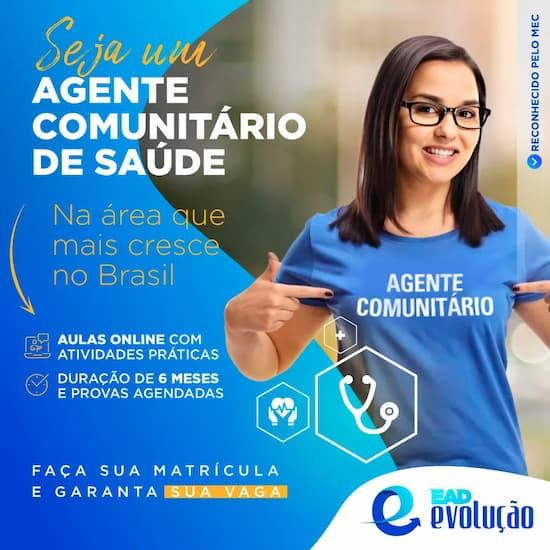 Curso Técnico em Agente Comunitário de Saúde